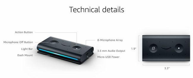 Amazon presenta Echo Auto para integrar Alexa a cualquier coche
