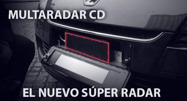 Los nuevos radares que multan a la vez.
