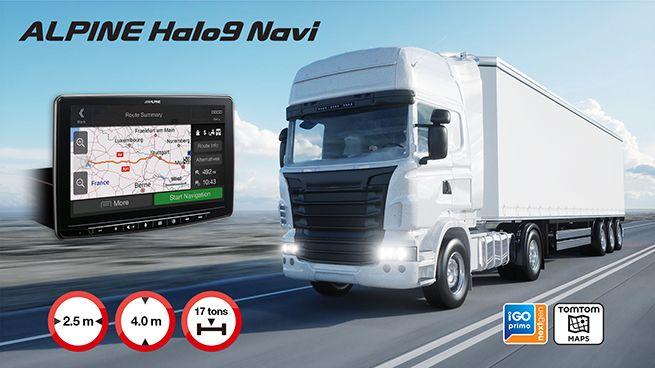 Alpine incorpora navegación a la unidad Halo9
